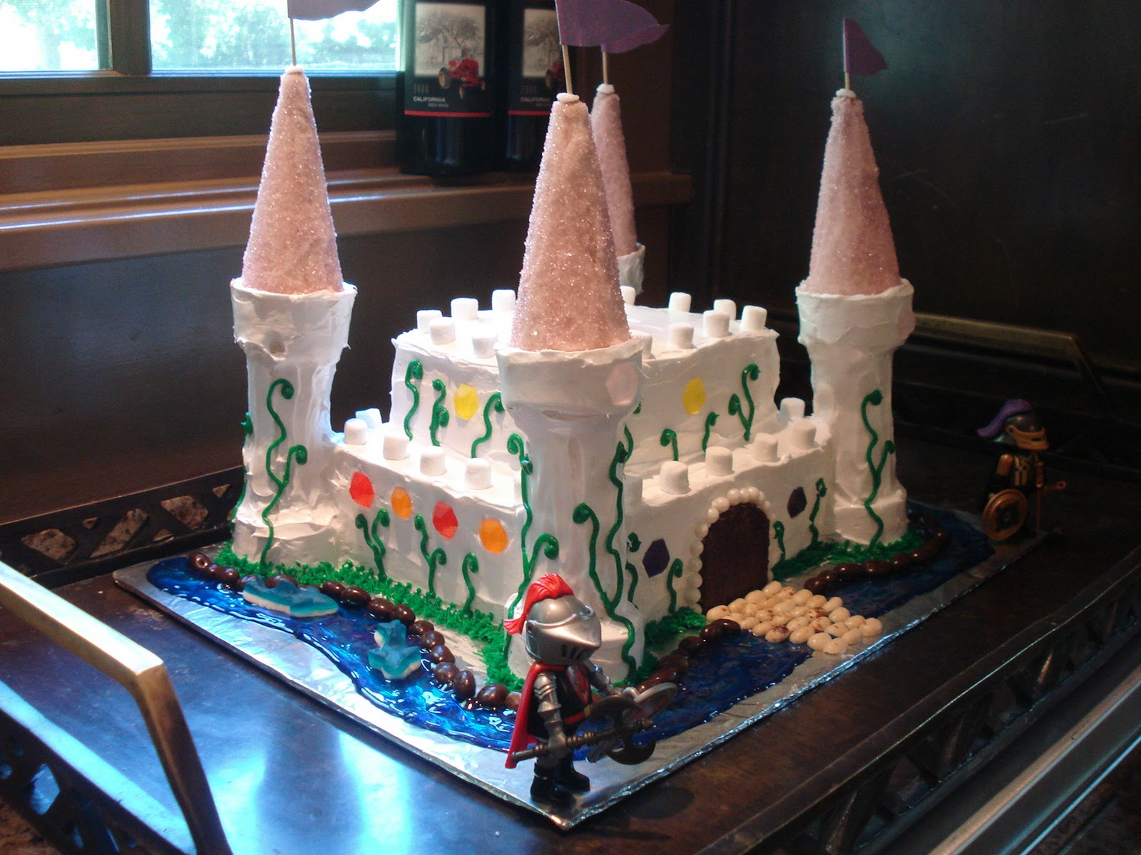 The Holistic Chef: Princess Castle Cake ... anything for ...