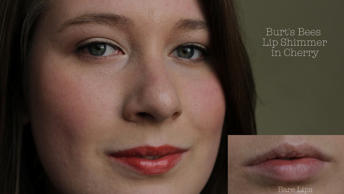 one little vice beauty blog: red semi-sheer tinted lip balm review