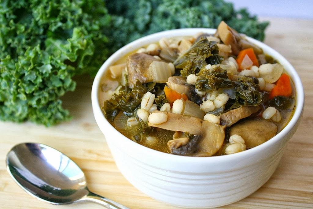 Quickest Mushroom-Barley Soup Recipe — Dishmaps