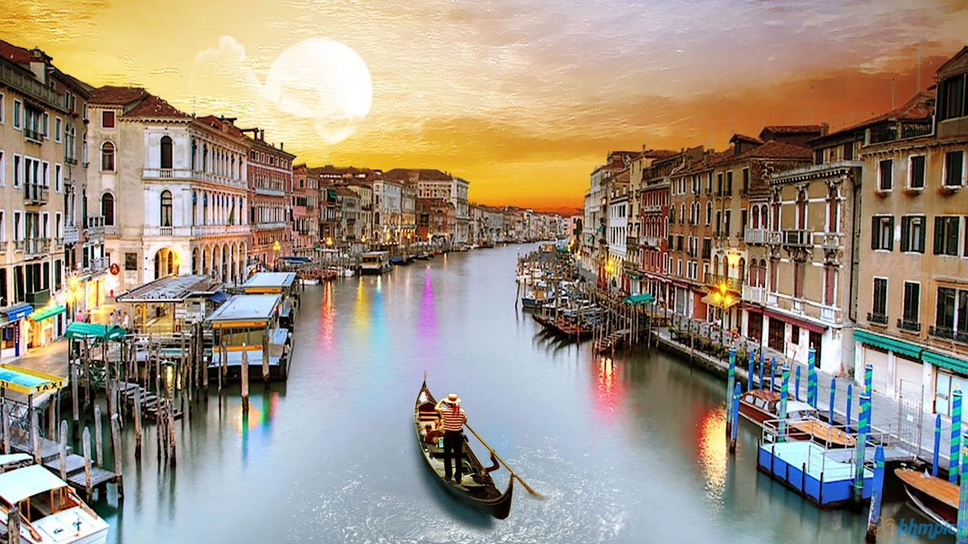 Asma qureshi venice italy the famous place in italy for Italy wallpaper