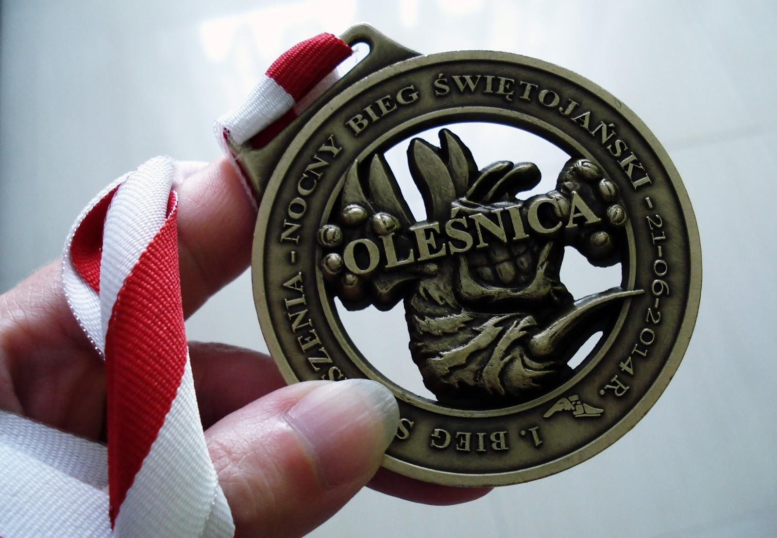 Bieganie, Trening, Zawody biegowe, Medal