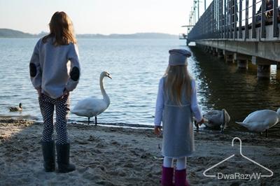Blog o modzie DwaRazyW Tuss sukienka szaroburo emu Lana Nguen 1