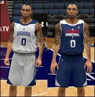 NBA 2K13 Atlanta Hawks Practice Jersey Mod