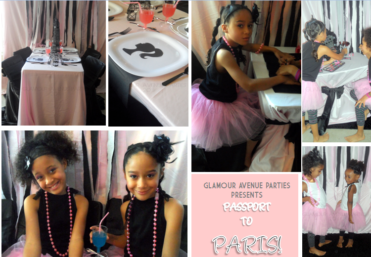 Glamour Avenue Parties: Passport to Paris - New Color Palette I ...