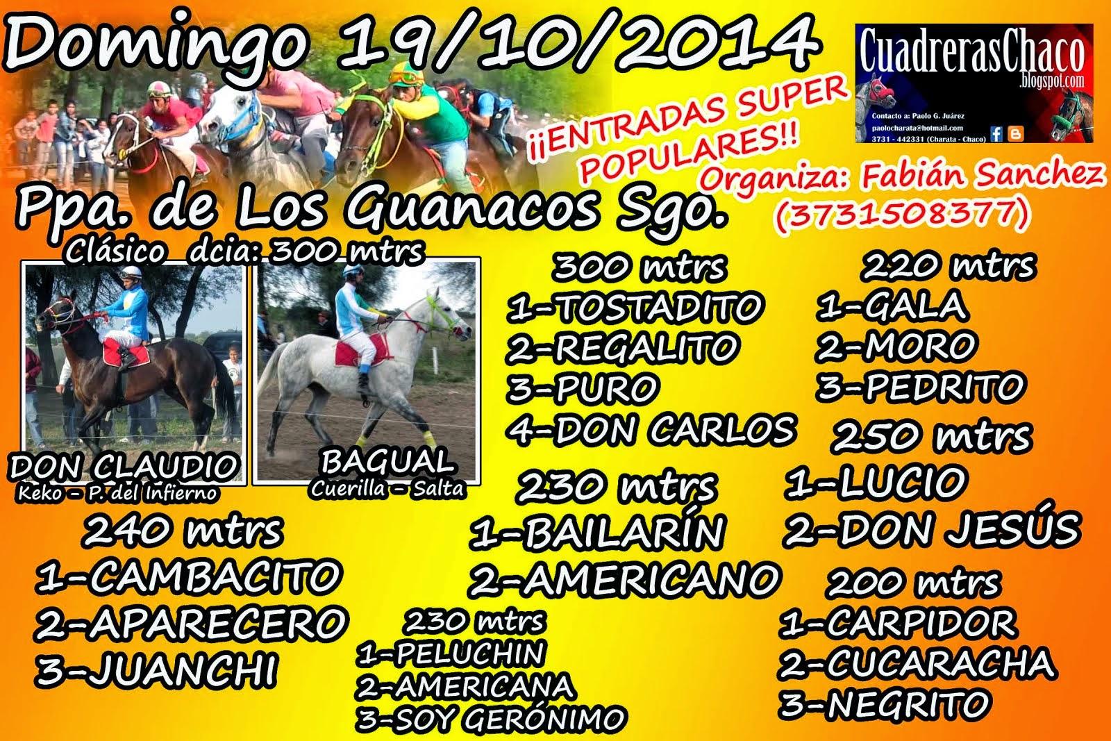 GUANACOS 19-10