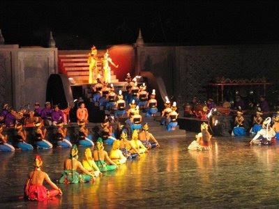 Pertunjukan Sendratari Ramayana di Prambanan