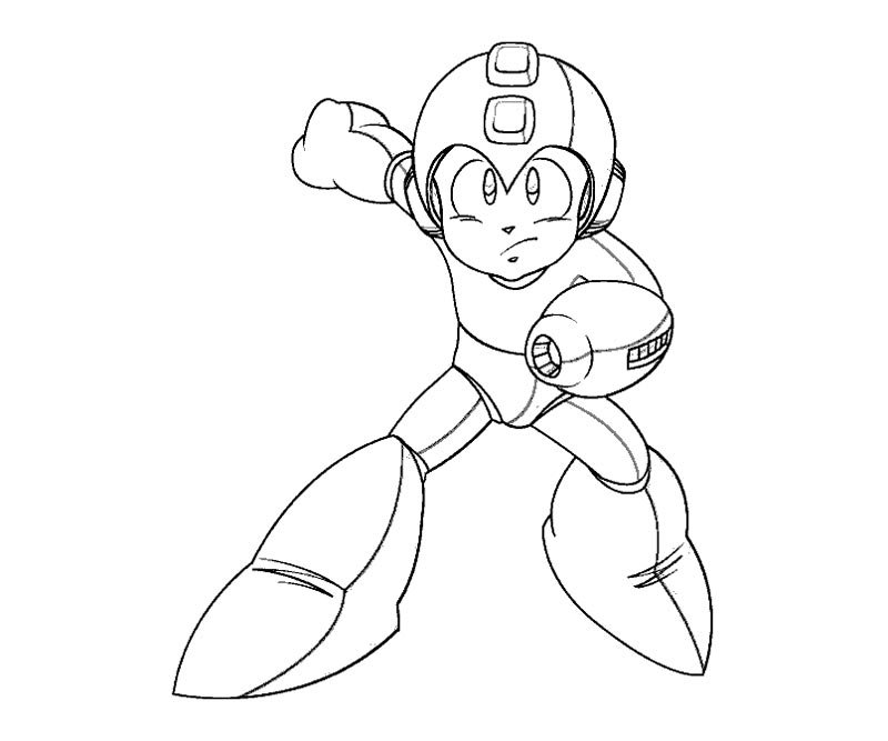 Free Coloring Pages Of Mega Man Color Sheets Mega Coloring Pages