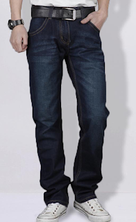 CASUAL FADED COOL DENIM BLUE WHOLESALE JEANS FOR MEN BQZ9W8Y1JB95