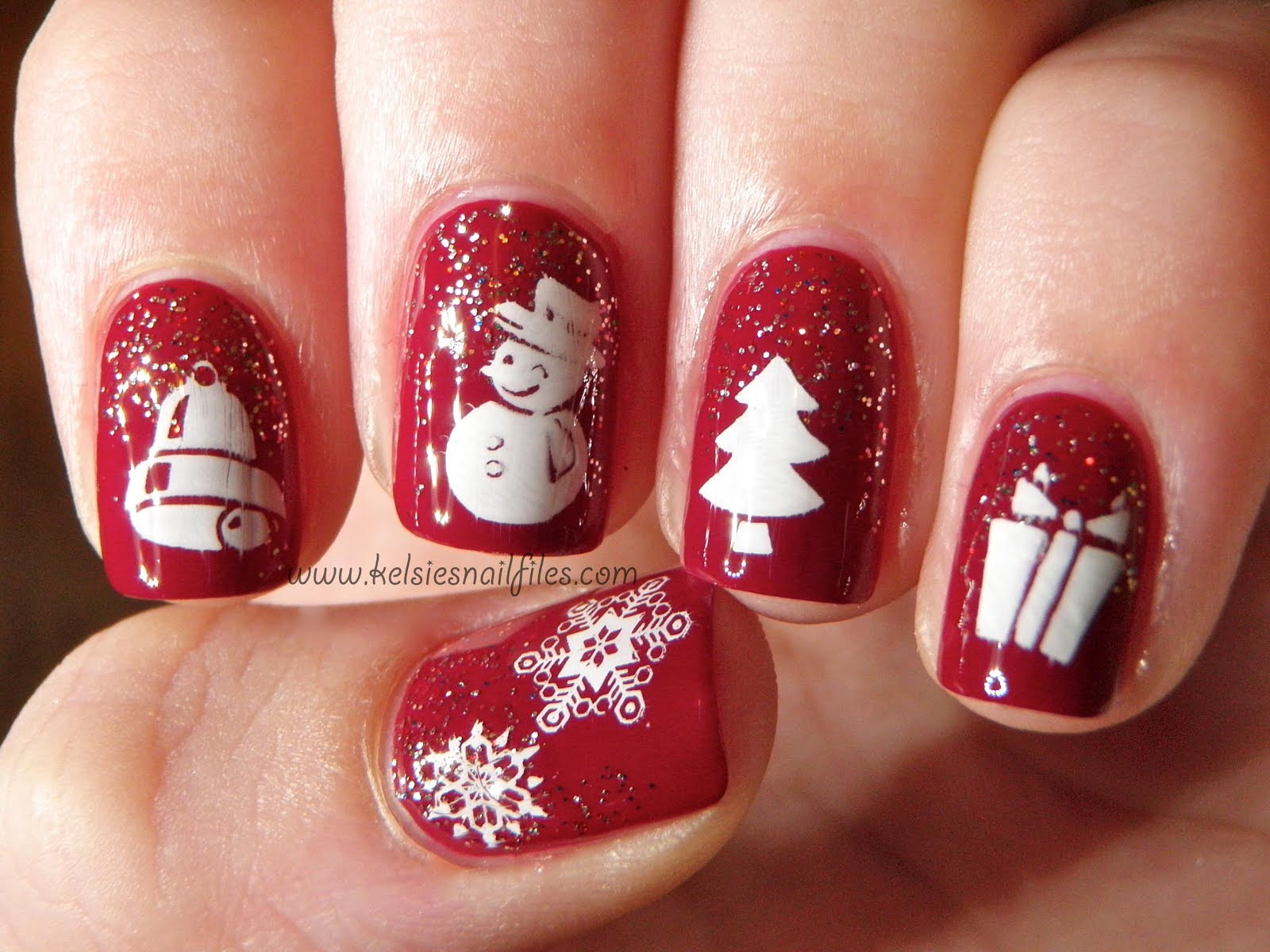A Little Polish: Holiday Happy Hour - Guest Post by Kelsie\'s Nail Files