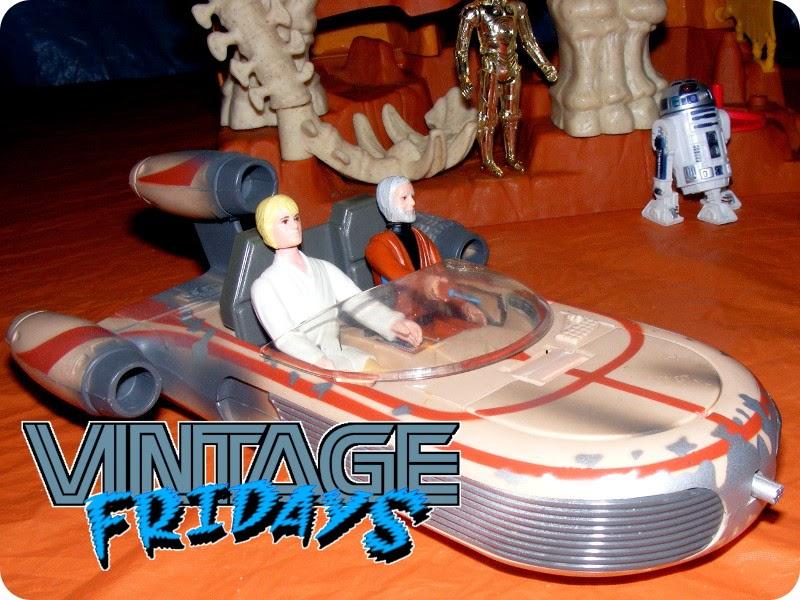 Star Wars Power of the Force POTF landspeeder véhicule vaisseau complet 1995 48i