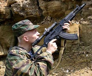 AK-104 buatan Rusia