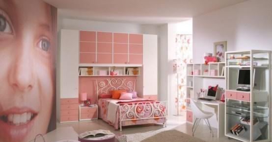 dormitorios con muebles rosa para niÑas | dormitorios con estilo