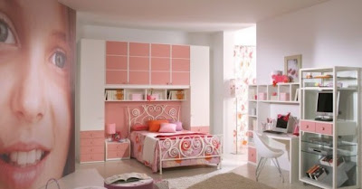 muebles rosa dormitorio niña