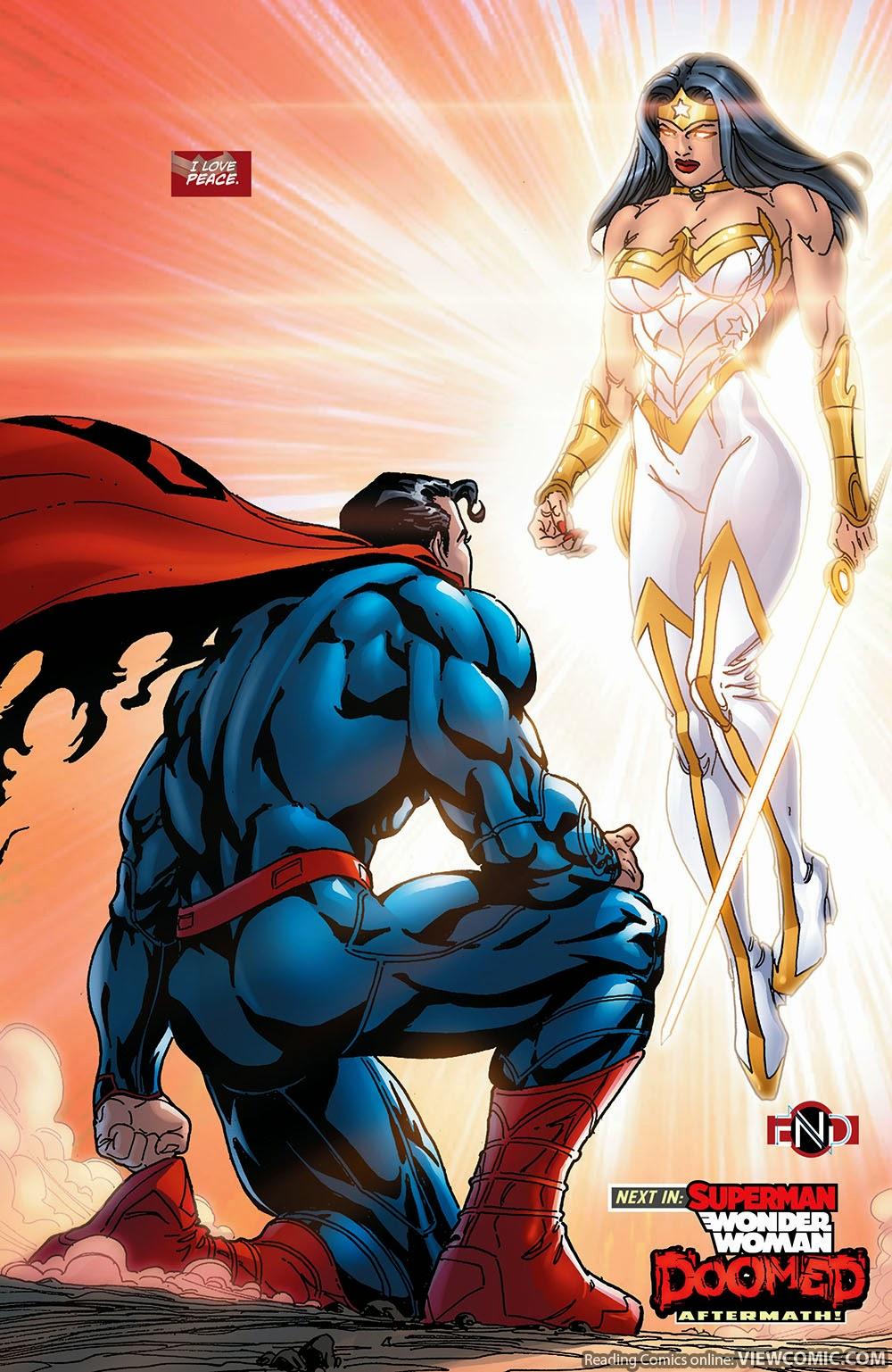 Superman/wonder woman #1 online college