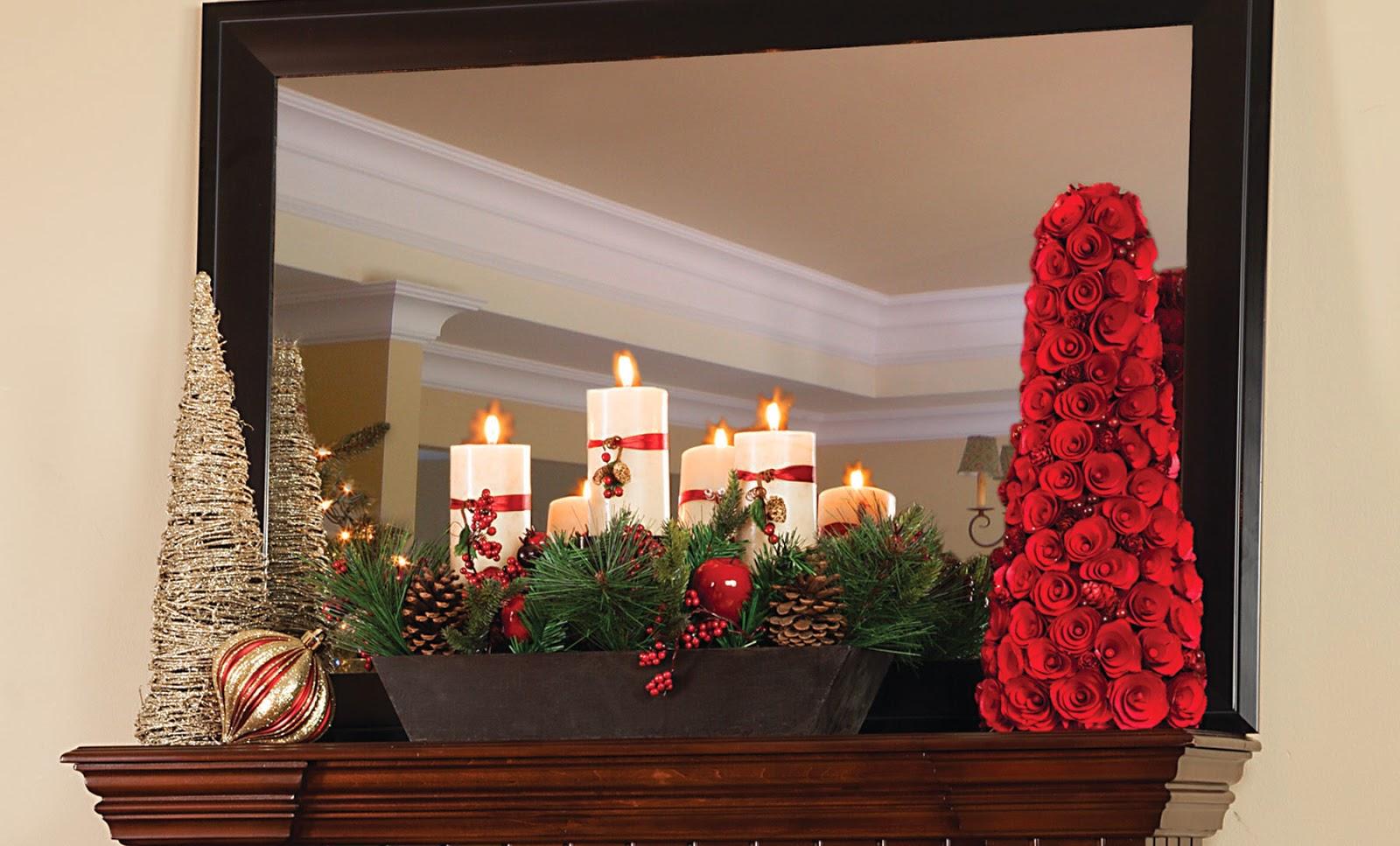 twinstar international winter mantel decorating tips