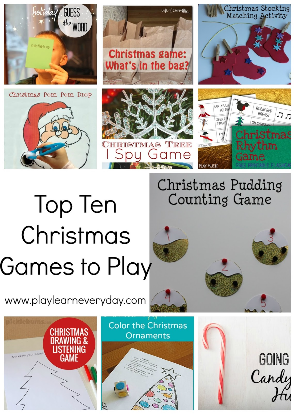 top ten christmas games to play - Christmas Day Games