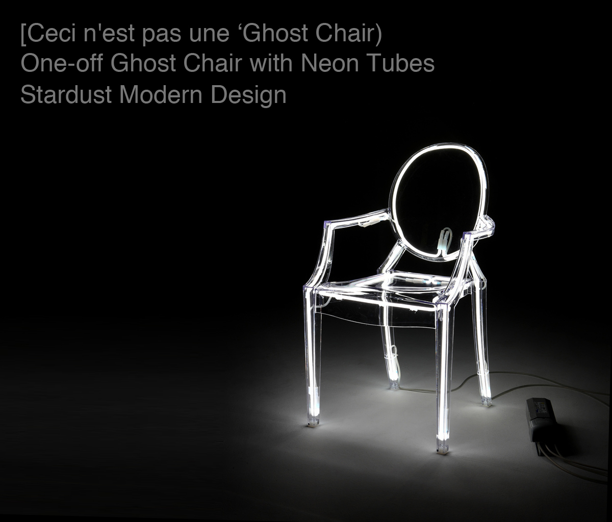 kartell louis ghost chair special edition d co. Black Bedroom Furniture Sets. Home Design Ideas