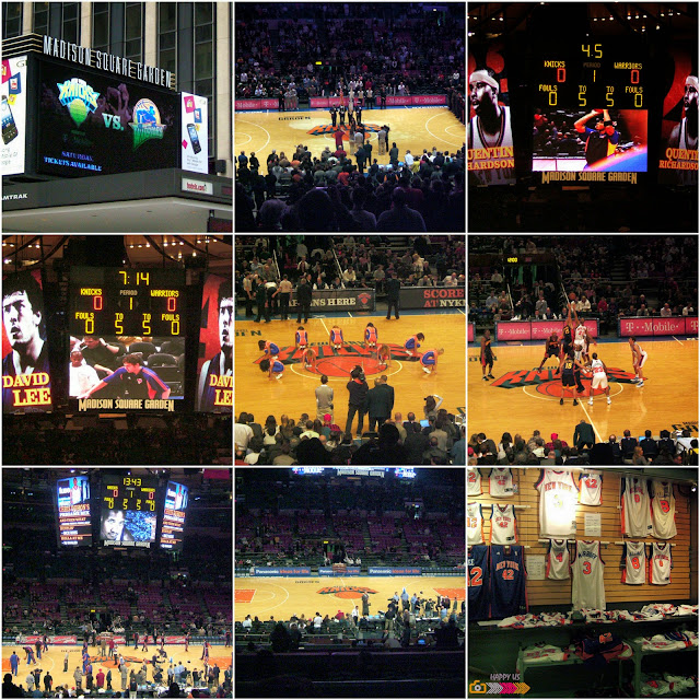 Madison Square Garden - Match basket Knicks