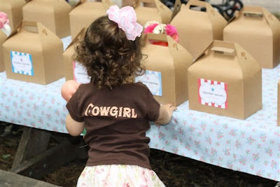 Lucias Sweet Vintage Cowgirl Birthday Party