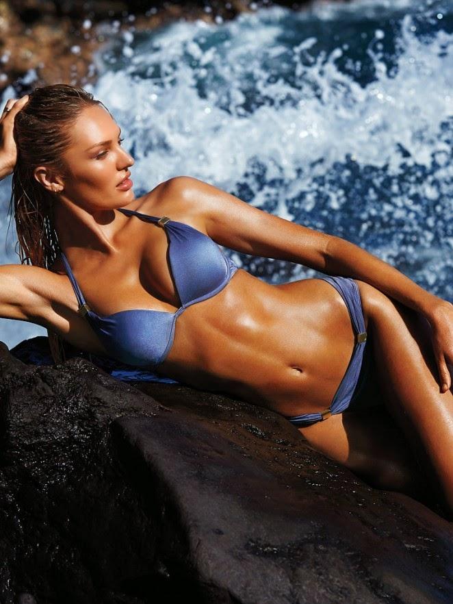 Candice Swanepoel – Victoria's Secret Swim Photoshoot