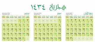 kalender hijriah 1435 h