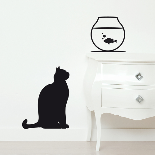 Wall stickers vinyluse vendita on line