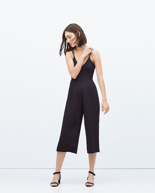 zara navy jumpsuit, strappy navy jumpsuit,