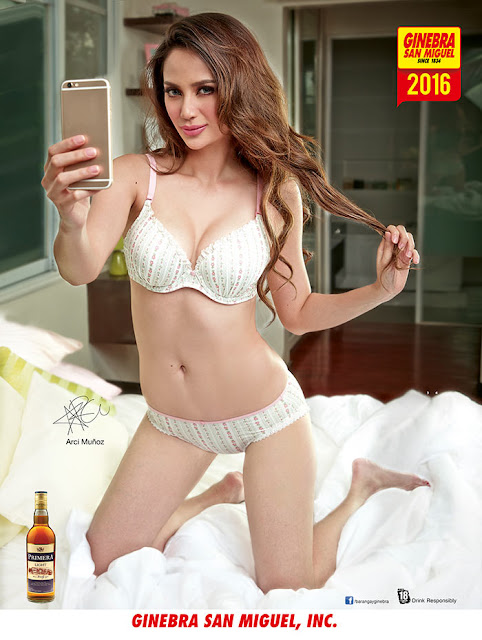 Arci Munoz Ginebra 2016 Calendar Girl photos are super sexy hot