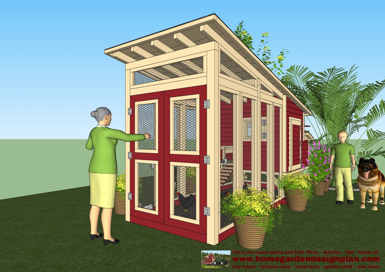 Coop qu chicken coop for Free coop plans