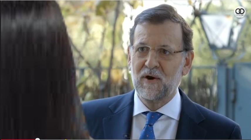 vídeo, Rajoy, campaña, puerta a puerta,
