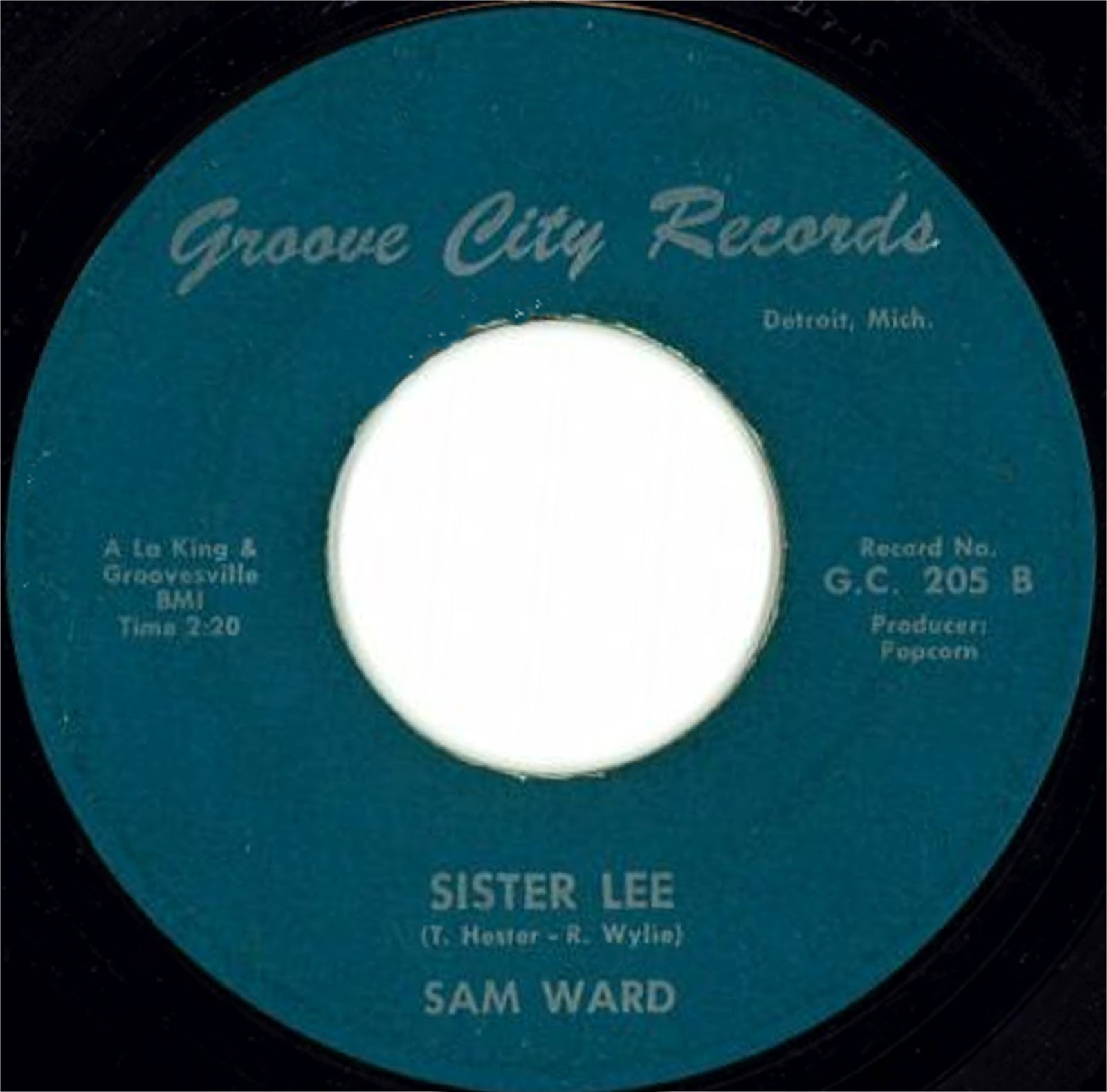 Sam Ward Stone Broke Sister Lee