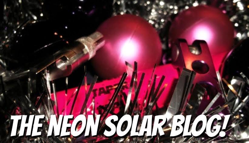 THE NEON SOLAR BLOG!