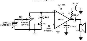 2.5W Audio Power Amplifier