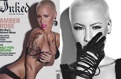 Amber Rose Tattoo