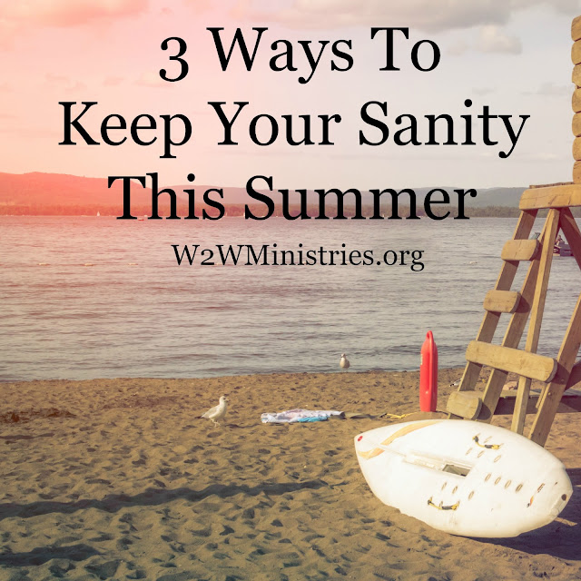 3 Ways To Keep Your Sanity This #Summer. #parenting #family #children