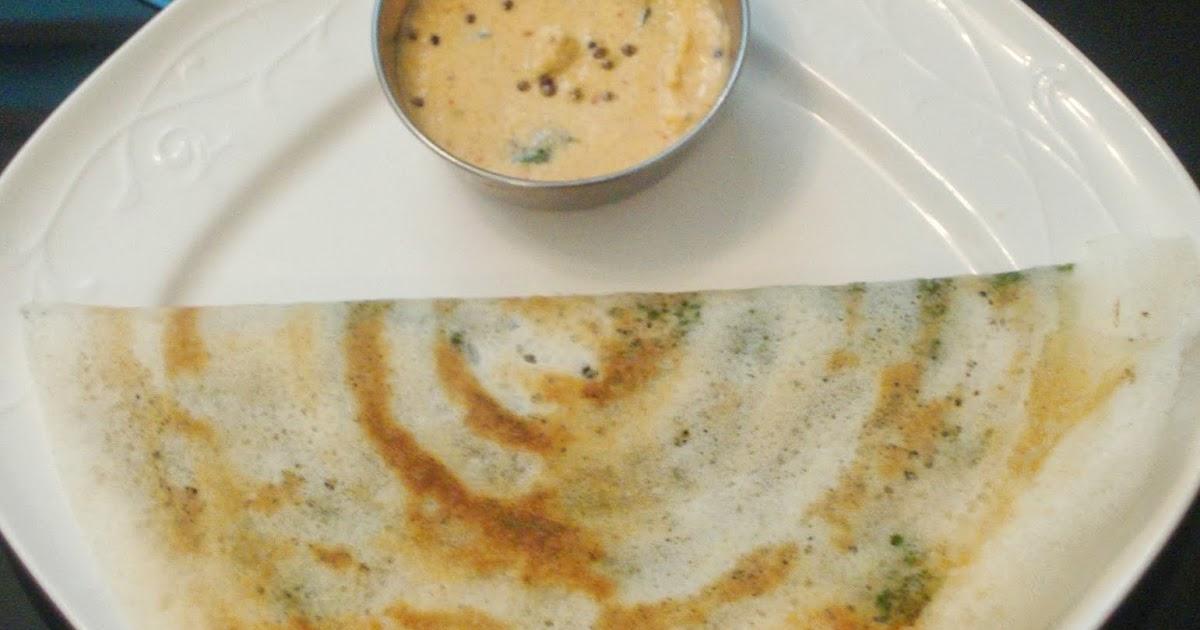 how to prepare palak masala dosa
