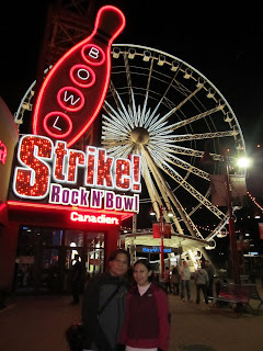 Ontario Canada Clifton Hill Niagara Skywheel