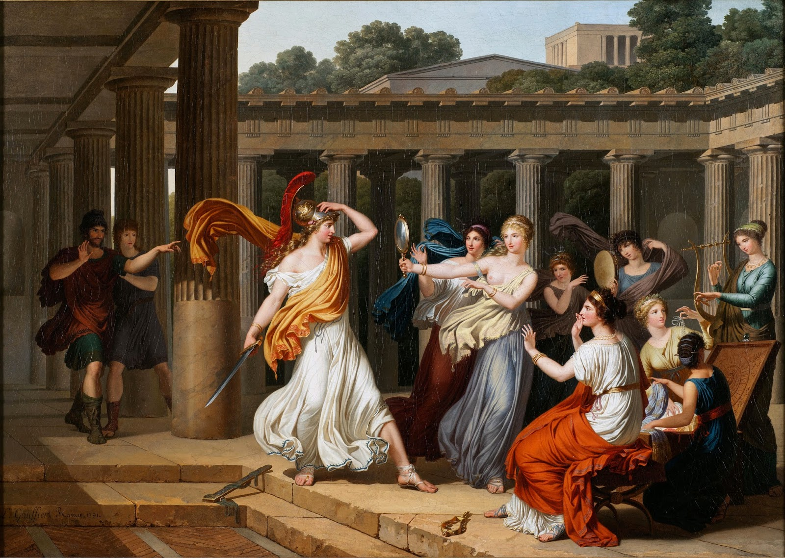 similarities between odysseus and telemachus
