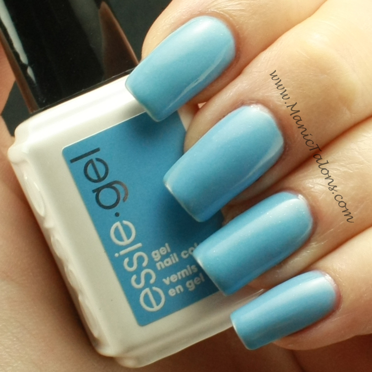 Manic Talons Nail Design: Essie Gel: Swatches and Review
