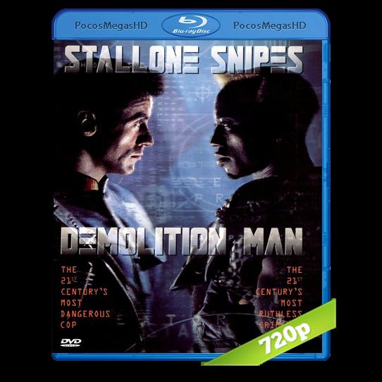 Demolition Man | 1993 | BrRIp 720p | Audio Dual | Ingles/Latino 5.1