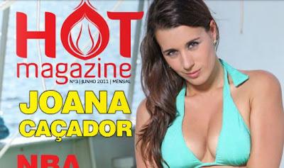 Joana Caçador Hot Magazine