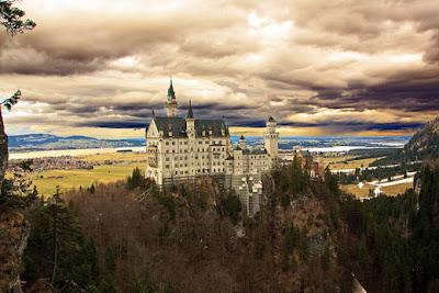 Kastil Neuschwanstein (Jerman)