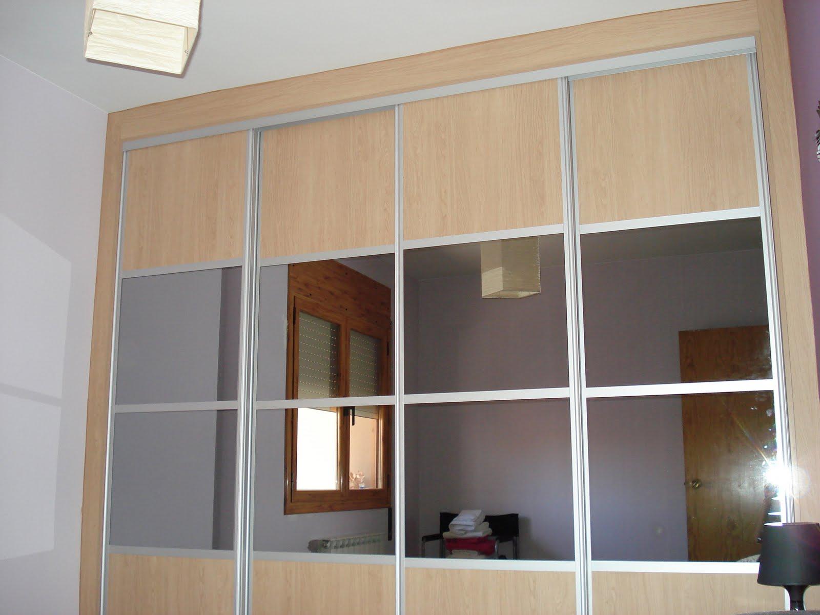 Renova for you armario empotrado con espejos - Perfiles de aluminio para armarios ...