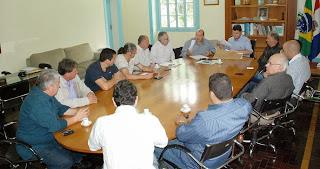 Encontro semanal da Comissão Organizadora dos assuntos relacionados à revitalização de Teresópolis para a Copa do Mundo de 2014