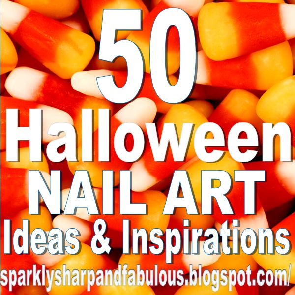 The Sparkle Queen: Top Halloween Nail Art Ideas and Inspiration!