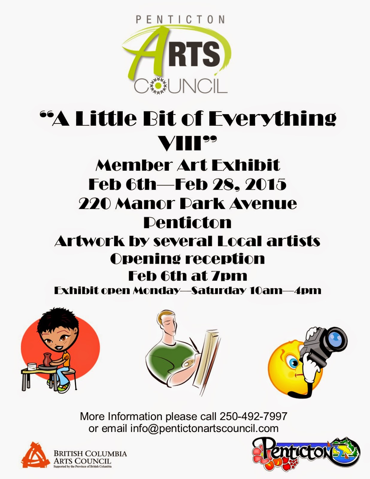 """A Little Bit of Everything VIII"" Penticton Arts Council"