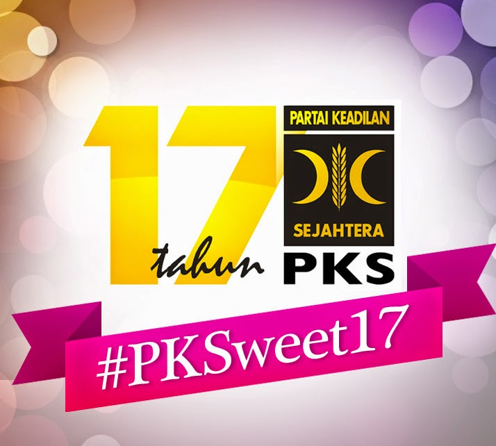 #PKSweet17 : Bersama Membangun Bangsa