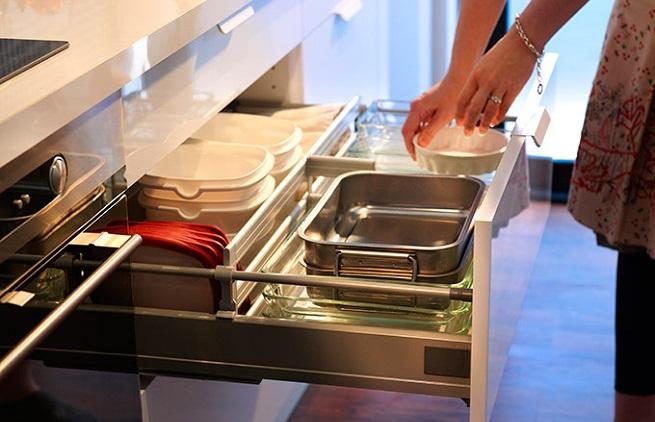 Cozinhas planejadas gavetas de cozinha - Ikea cubiertos cocina ...