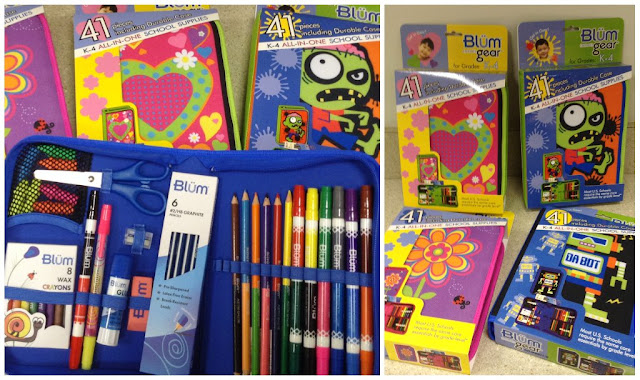 Back to School with @BlumGear all-in-one kits