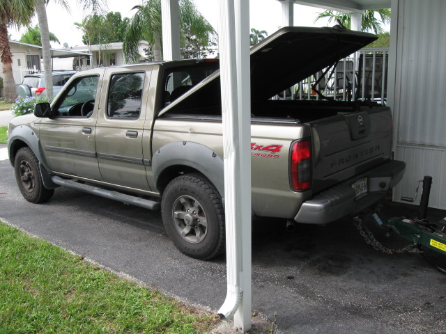 2002 Nissan Frontier 4X4 hd image